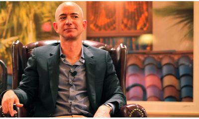 Jeff Bezos, presidente de Amazon