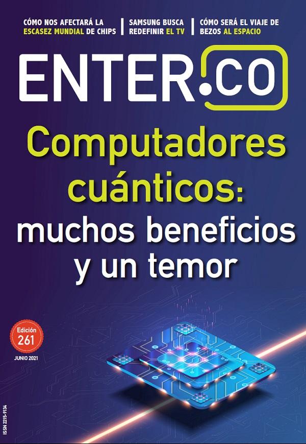Portada revista ENTER 261