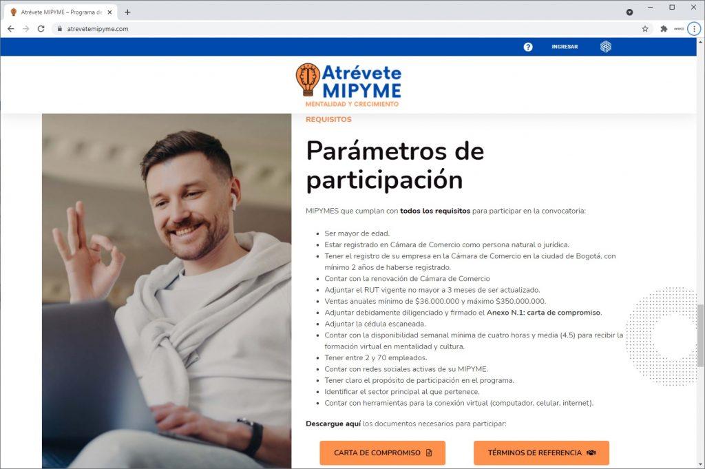 Programa Atrévete MiPyme
